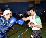 Belfast (Ireland): Indian Boxers on exposure trips to Italy, Ireland and Korea