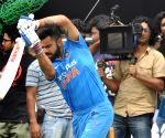 Virat Kohli's ad shoot