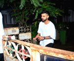 Virat Kohli seen at Mumbai's Bandra