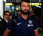 Indian team arrives in Kolkata ahead of first Day-Night Test match