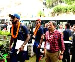 Indian team reaches Himachal ahead of first T20I