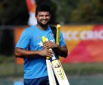 Melbourne (Australia): ICC World Cup 2015 - Practice session - India