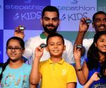 Virat Kohli launches 'Stepathlon Kids'