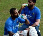Practice session - India