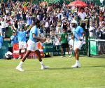 Davis Cup - Rohan Bopanna and Divij Sharan celebrates doubles win