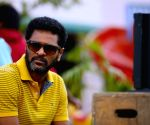 On the sets of 'Action Jackson'