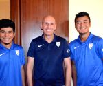 All India Football Federation press conference
