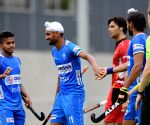 Antwerp (Belgium): India defeats Belgium in opening match of three-match series