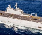 Indian Navy participates in multi-nation naval drill in Gulf of Aden