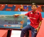 Harmeet beats Amalraj to win Indonesia Open TT