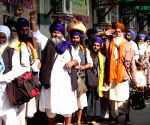 PAKISTAN-LAHORE-INDIAN SIKH PILGRIMS