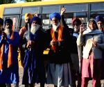 Sikh pilgrims leave for Pakistan to celebrate 551st birth anniversary of Guru Nanak Dev