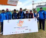 Indian skeet women in line for World Cup podium finish