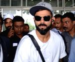 Virat Kohli at Kolkata Airport
