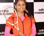 Dipika Pallikal during a training session at Siri Fort Stadium