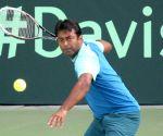 Davis Cup 2014 - practice session