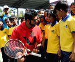 Rohan Bopanna at The Rohan Bopanna Tennis Academy