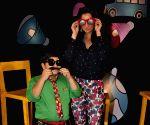 Sania Mirza on sets of Disney Show Captain Tiao