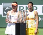 Women's singles final match at the BNP Paribas Open in Indian Wells