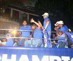 Mumbai Indians' open bus parade