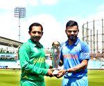 ICC Champions Trophy - Virat Kohli, Sarfraz Ahmed