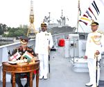 Free Photo: Indigenously-built INS Kavaratti commissioned in Indian Navy