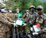 India, Pak armies exchange sweets at LoC on Eid