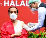 Indonesian Prez receives 2nd dose of Covid vaccine