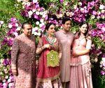 Mumbai: Akash, Shloka wedding festivities