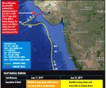 Cyclone Vayu crosses Gujarat coast, causes heavy rains