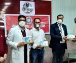 Innovators come up with 3D masks, touch-free devices in Raj
