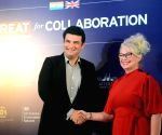 India-UK Createch Summit - Siddharth Roy Kapur, Dawn McCarthy-Simpson