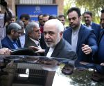 Iran FM slams US' continued sanctions