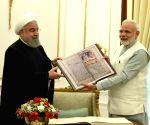 Iranian President Hassan Rouhani gift Kalila Wa Demna to PM Modi