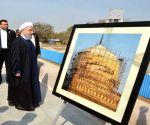 Iranian President visits Muhammad Quli Qutb Shah's tomb