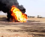 IS blows up 2 oil wells, kills 2 security members in Iraq