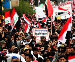 IRAQ BAGHDAD PROTEST U.S. TROOPS PRESENCE