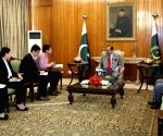 PAKISTAN ISLAMABAD PRESIDENT INTERVIEW