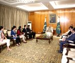 PAKISTAN ISLAMABAD INTERVIEW PAKISTANI PRESIDENT
