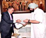 Israel's Ambassador Daniel Carmon meets Punjab CM Amarinder Singh