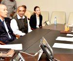 Israeli envoy meets Andhra CM
