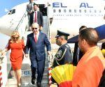 Israeli PM arrives in Agra