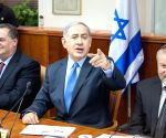 MIDEAST JERUSALEM ISRAEL PM DEAL WITH IRAN INT'L EFFORTS SLAMMING