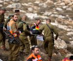 MIDEAST-WEST BANK-KOHAV HASHACHAR JEWISH SETTLEMENT-BUS-CRASH