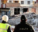 TURKEY ISTANBUL BUILDING COLLAPSE RESCUE OPERATION ENDING