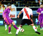 TURKEY-ANTALYA-RIVER PLATE VS GALATASARAY