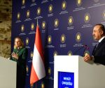 TURKEY ISTANBUL TURKEY AUSTRIA FMS PRESS CONFERENCE