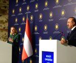 TURKEY ISTANBUL TURKEY AUSTRIA FMS PRESS CONFERENCE