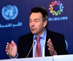 TURKEY ISTANBUL HUMANITARIAN SUMMIT PRESS BRIEFING PETER MAURER