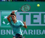 TURKEY-ISTANBUL-TENNIS-ATP WORLD TOUR-ISTANBUL OPEN-FEDERER VS CUEVAS